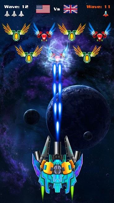 دانلود Galaxy Attack: Alien Shooter 7.17 - بازی اکشن