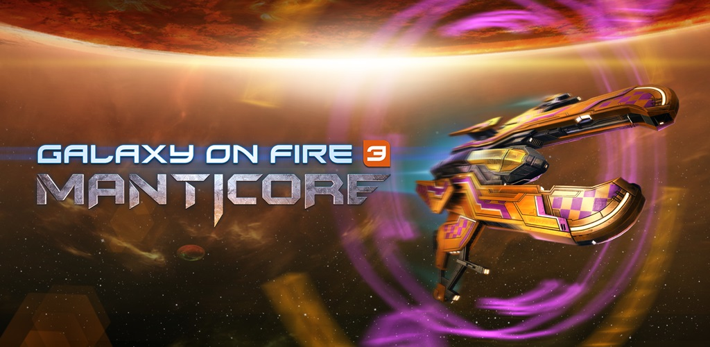 """دانلود Galaxy on Fire 3 – Manticore 1.4.1 – بازی اکشن خارق العاده """"کهکشان در آتش 3"""" اندروید + مود + دیتا"""