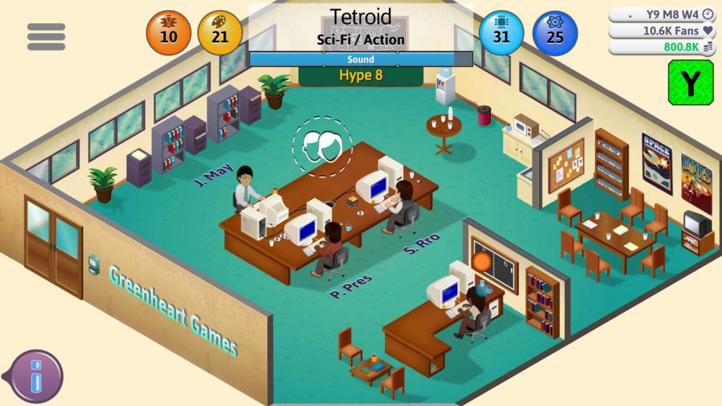 دانلود Game Dev Tycoon 1.4.9 - بازی جالب و سرگرم کننده شبیه سازی استودیو بازی سازی اندروید !