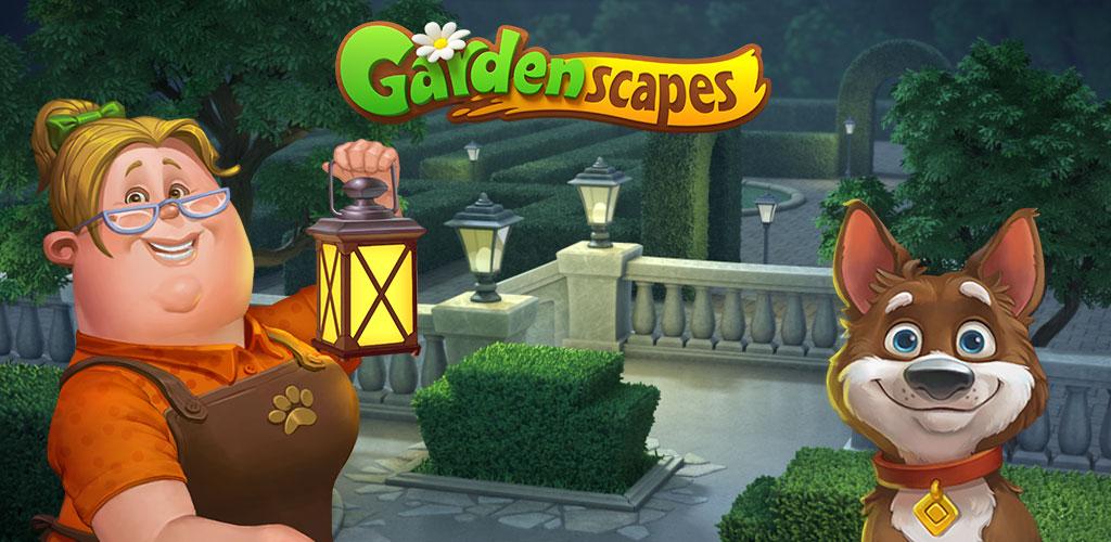 """دانلود Gardenscapes - New Acres - بازی جورچین """"باغداری"""" اندروید + مود"""