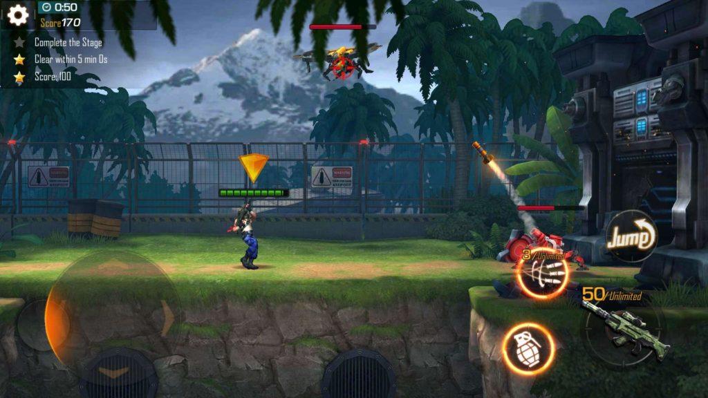 دانلود Garena Contra: Return 1.13.53.2191 - بازی اکشن خاطره انگیز