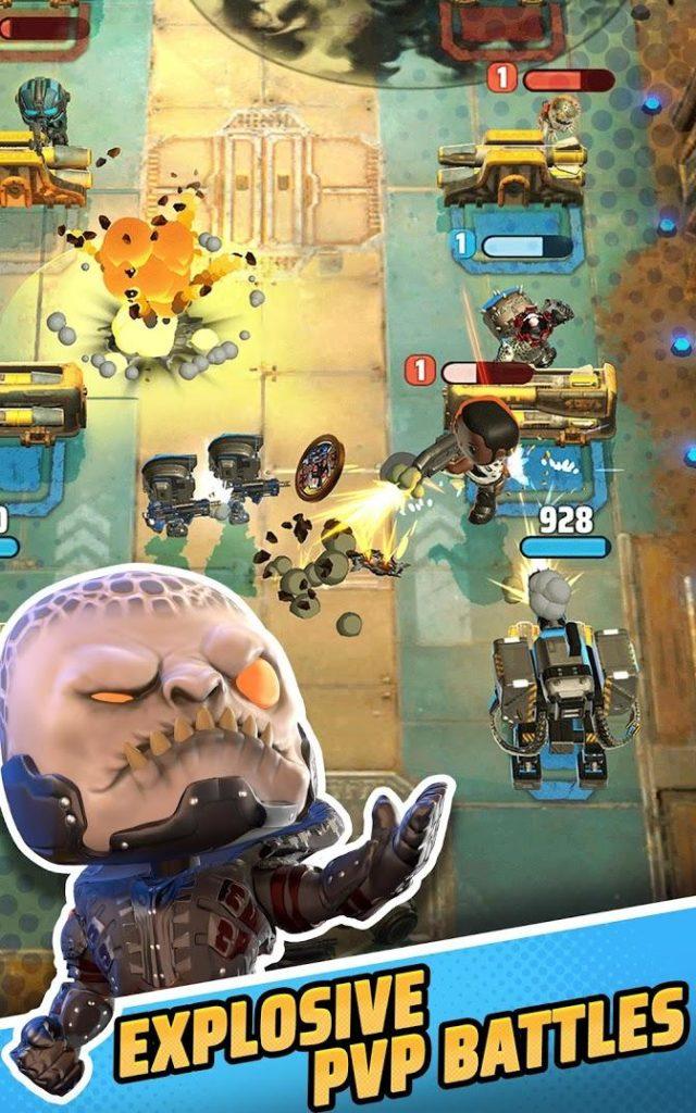 دانلود Gears POP! 1.63 - بازی استراتژیکی رقابتی