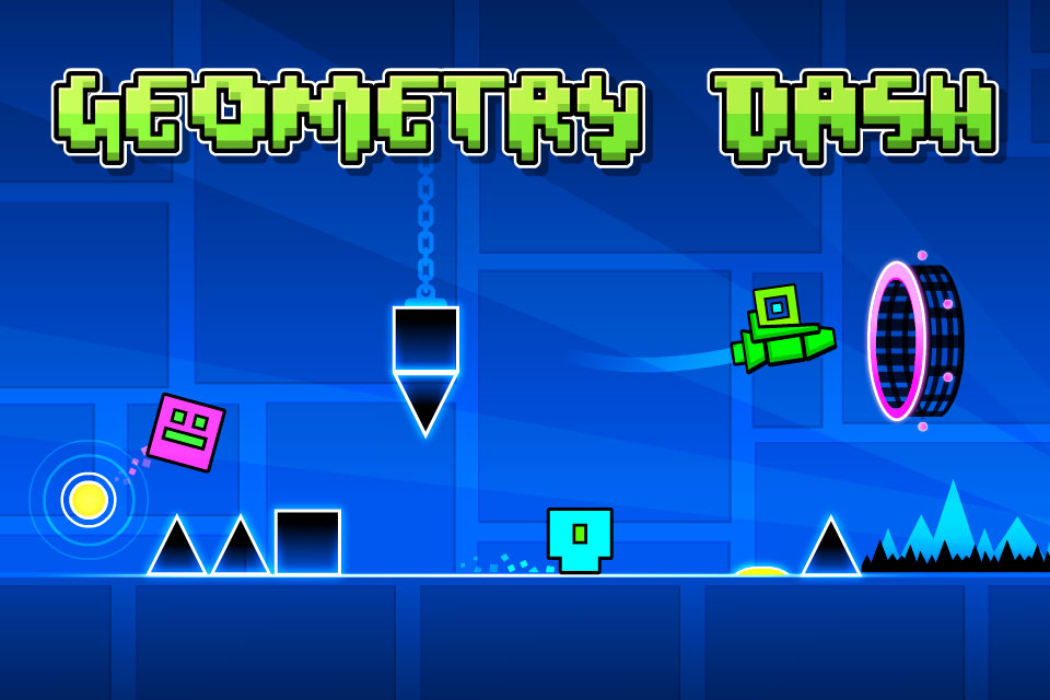 دانلود Geometry Dash Full 2.111 - بازی پرطرفدار علامت های هندسی اندروید + مود