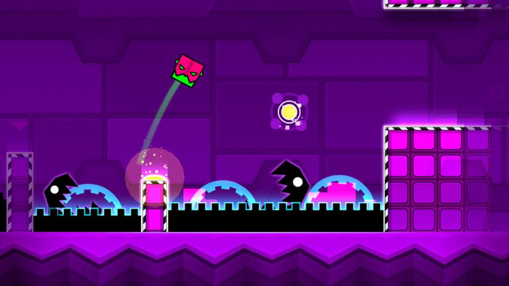دانلود Geometry Dash Meltdown 1.01 - بازی معکب کوچولو در دنیای مواد مذاب اندروید + مود