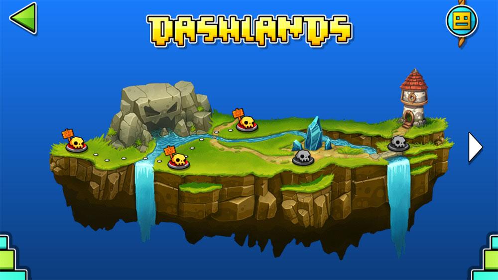دانلود Geometry Dash World 1.03 - بازی آرکید مکعب کوچولو اندروید + مود