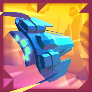"""دانلود Geometry Race 1.9.6 - بازی """"مسابقه در دنیا اشکال هندسی"""" اندروید + مود"""