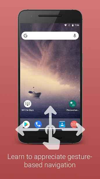 دانلود Gesture Control - Next level navigation Full 1.3.1.5 - اپلیکیشن میانبر پیشرفته و حرفه ای اندروید !