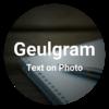 Geulgram - Text on Photo, quote maker