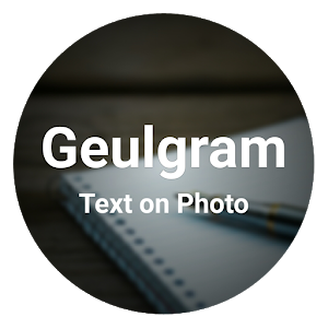 Geulgram - Text on Photo, quote maker 2.5.6