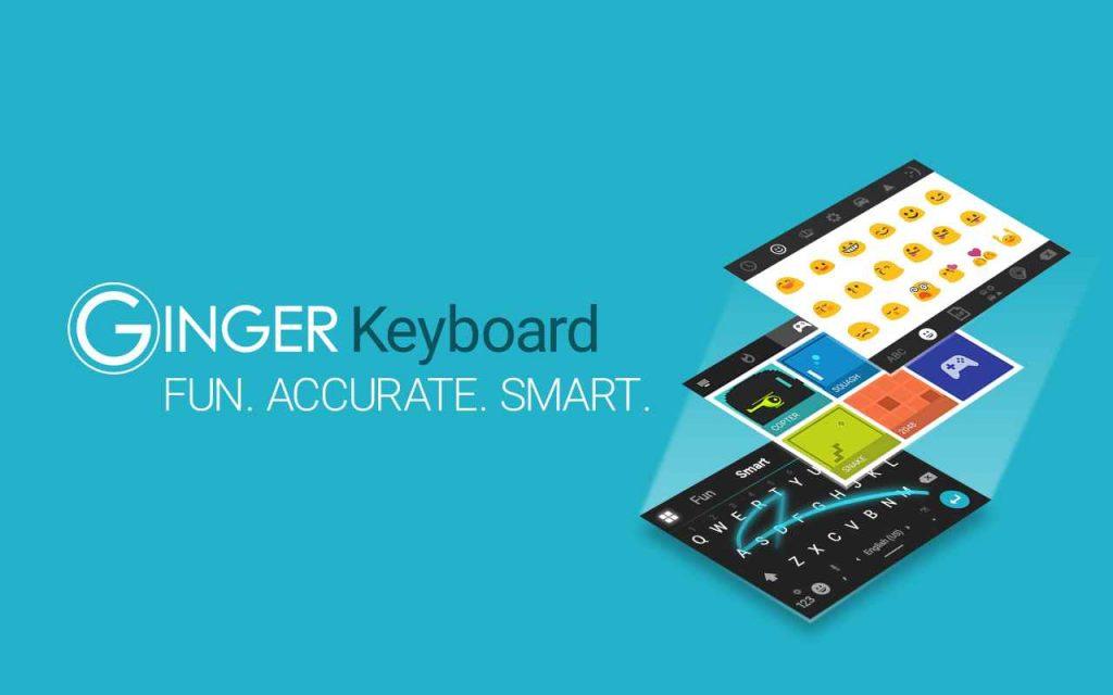 دانلود Ginger Keyboard Full 8.2.00 - کیبورد حرفه ای و پر امکانات اندروید