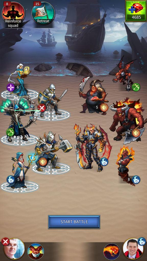 دانلود Gods and Glory: War for the Throne 3.12.3.0 - بازی استراتژیک