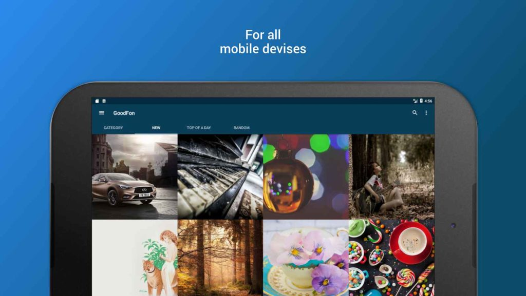 دانلود Goodfon HD Wallpapers 2.1.3 - اپلیکیشن تصاویر پس زمینه افسانه ای اندروید