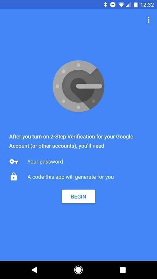 دانلود Google Authenticator 5.00 - برنامه افزایش امنیت حساب گوگل اندروید