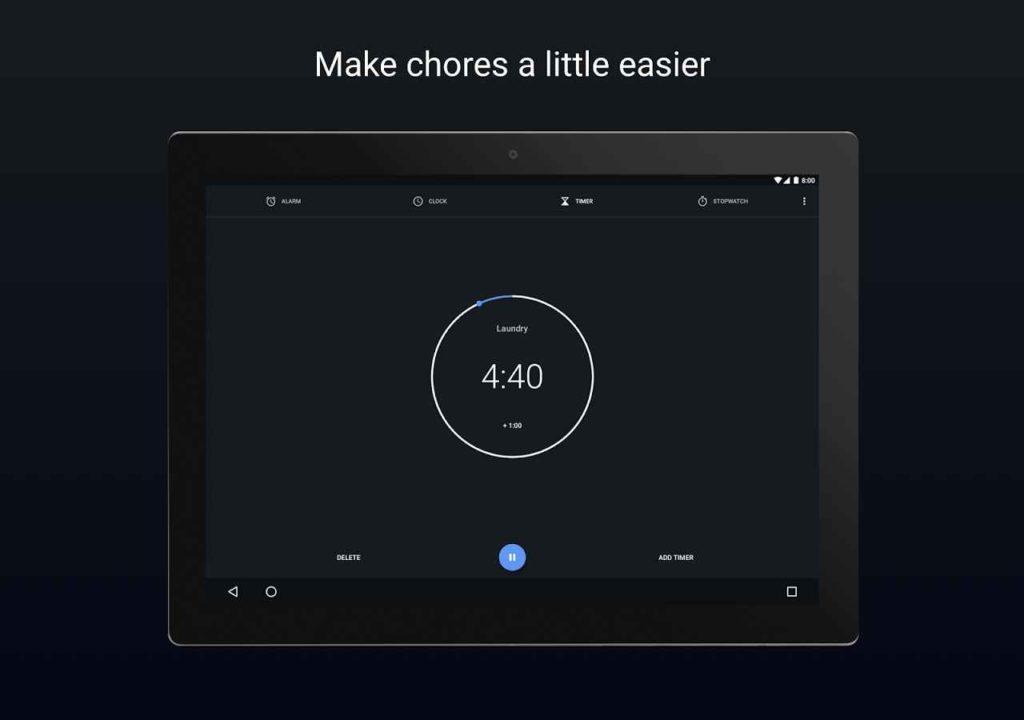 دانلود Google Clock 6.0 - اپلیکیشن ساعت هوشمند گوگل اندروید !