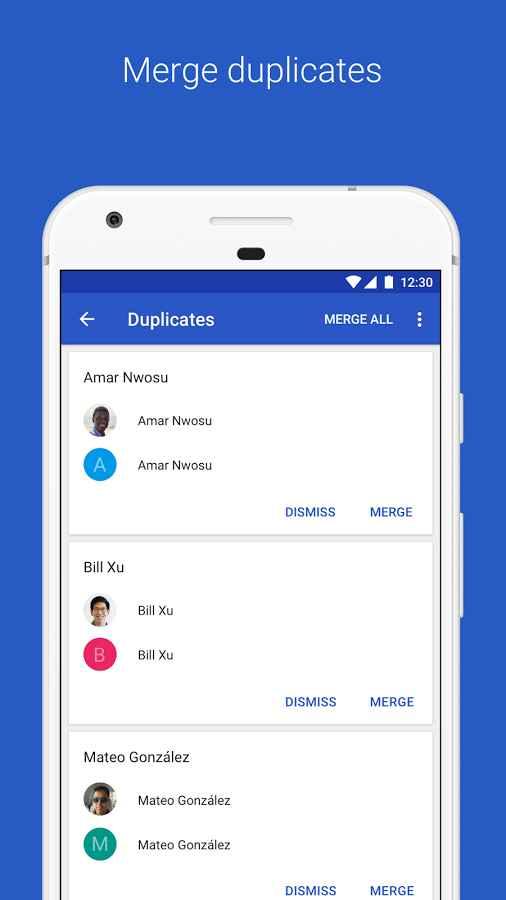 دانلود Google Contacts 3.2.5.222172751 - برنامه مدیریت مخاطبین گوگل اندروید