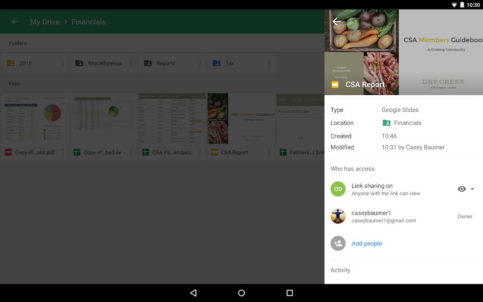 دانلود Google Drive 2.20.061.04 - اپلیکیشن رسمی گوگل درایو اندروید