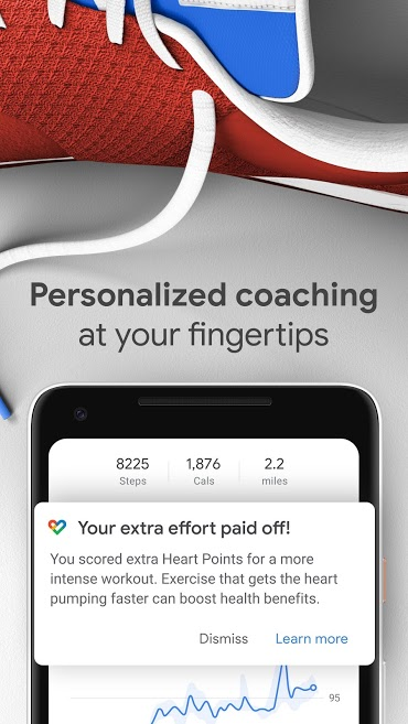 دانلود Google Fit - Fitness Tracking 2.22.21-130 - برنامه تناسب اندام گوگل فیت اندروید !