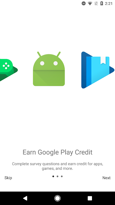 دانلود Google Opinion Rewards 2020011702 - برنامه اعتبار رایگان گوگل پلی اندروید !