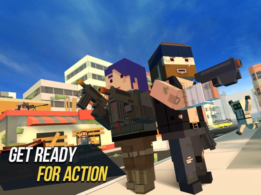 دانلود Grand Battle Royale: Pixel War 3.3.7 - بازی اکشن نبرد بزرگ سلطنتی اندروید + مود