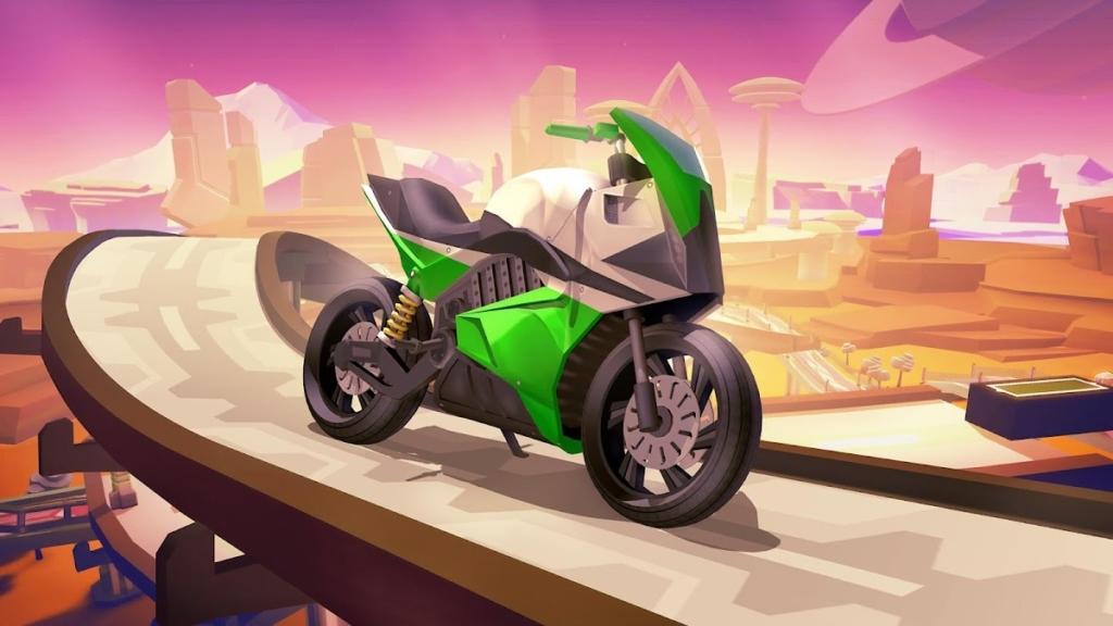 دانلود Gravity Rider Zero 1.33.0 - بازی رسینگ