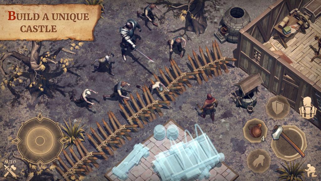 دانلود Grim Soul: Dark Fantasy Survival 2.5.1 - بازی اکشن و بقا خارق العاده اندروید + مود