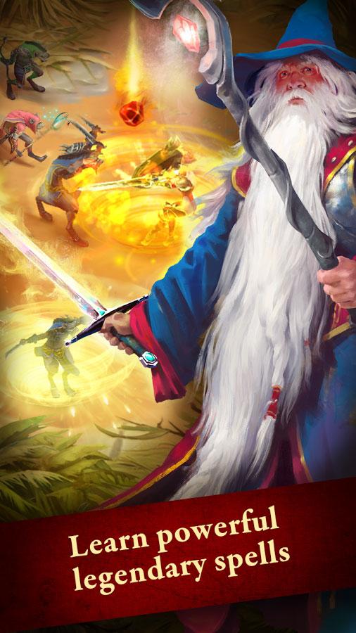 دانلود Guild of Heroes - fantasy RPG 1.88.8 - بازی نقش آفرینی محبوب گروه قهرمانان اندروید