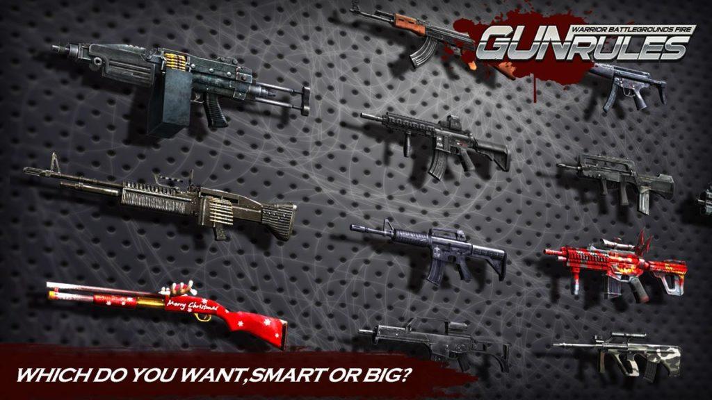 دانلود Gun Rules : Warrior Battlegrounds Fire 1.1.2 - بازی اکشن و تفنگی هیجان آور اندروید + مود