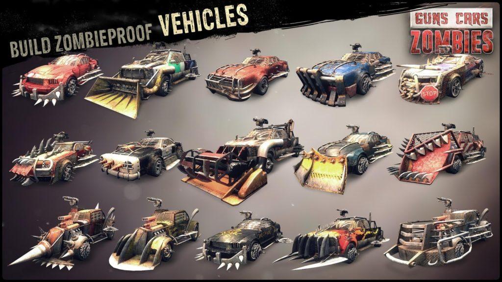 دانلود Guns, Cars, Zombies 3.2.6 - بازی اکشن بی نظیر