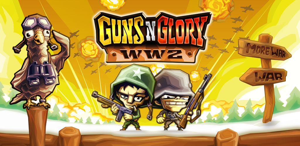 Guns.n.Glory WW2 Premium Cover دانلود Guns'n'Glory WW2 Premium 1.4.11 – بازی برج دفاعی سلاح و همچنین افتخار جنگ جهانی 2 آندروید + مود