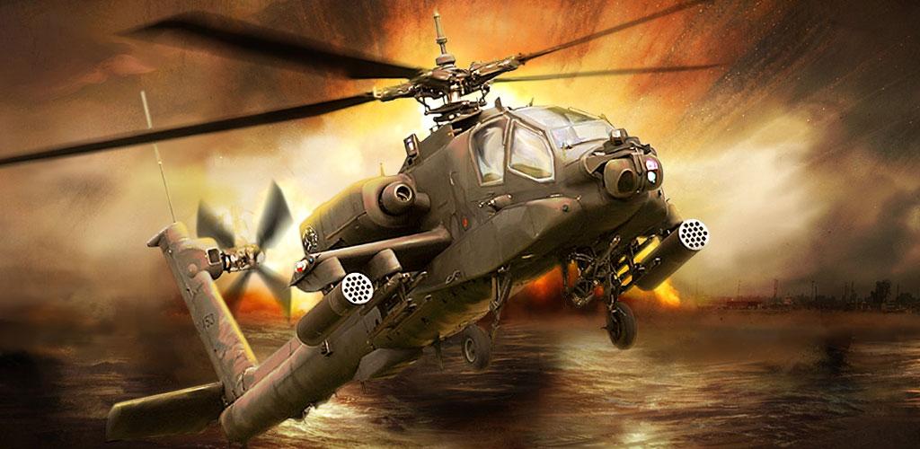 6537651bb بازی گان شیپ بتل با طلای بینـهایت Gunship Battle: Helicopter 3D 2.7.10 -