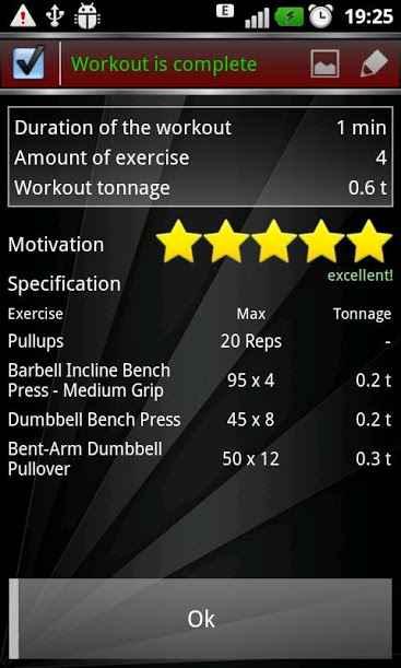 دانلود Gym Book: training notebook 4.7 - نوت بوک تمرینات ورزشی اندروید