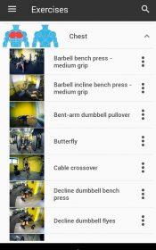 GymApp Pro fitness trainer