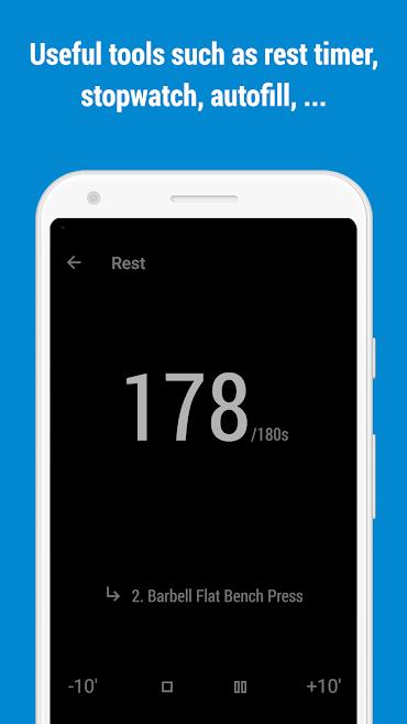دانلود GymRun Fitness Workout Logbook FULL 8.1.1 - برنامه تجزیه و تحلیل حرکات ورزشی اندروید
