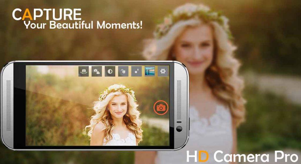 دانلود HD Camera Pro 2018 1.7 - برنامه دوربین اچ دی و پر امکانات اندروید