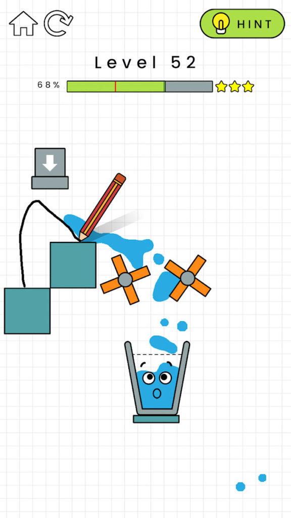 """دانلود Happy Glass 1.0.33 - بازی پازل """"لیوان خوشحال"""" اندروید + مود"""