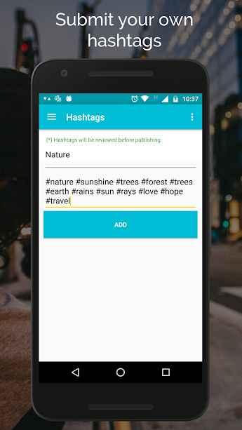 دانلود Hashtags Pro 2.0 - برنامه انتخاب هشتگ محبوب اندروید !