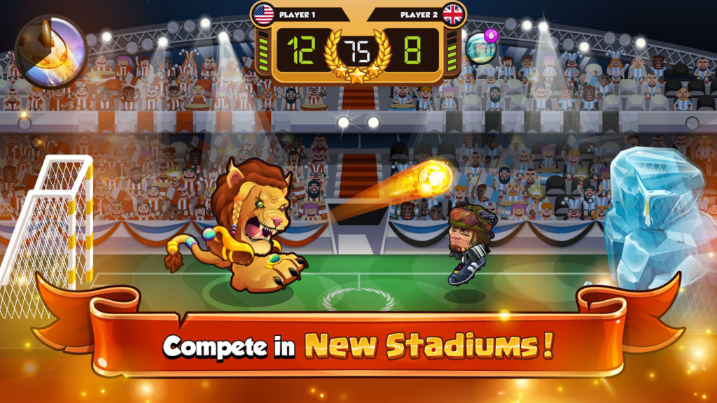 دانلود Head Ball 2 1.79 - بازی فوتبال جالب و سرگرم کننده کله ای 2 اندروید !