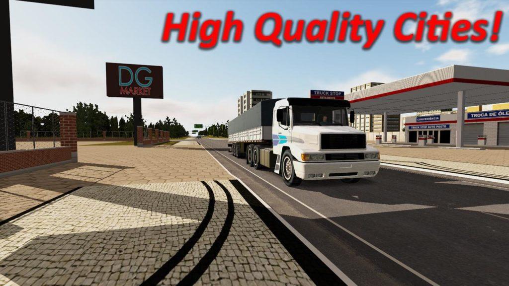 دانلود Heavy Truck Simulator 1.971 - بازی شبیه ساز ماشین سنگین اندروید + مود + دیتا