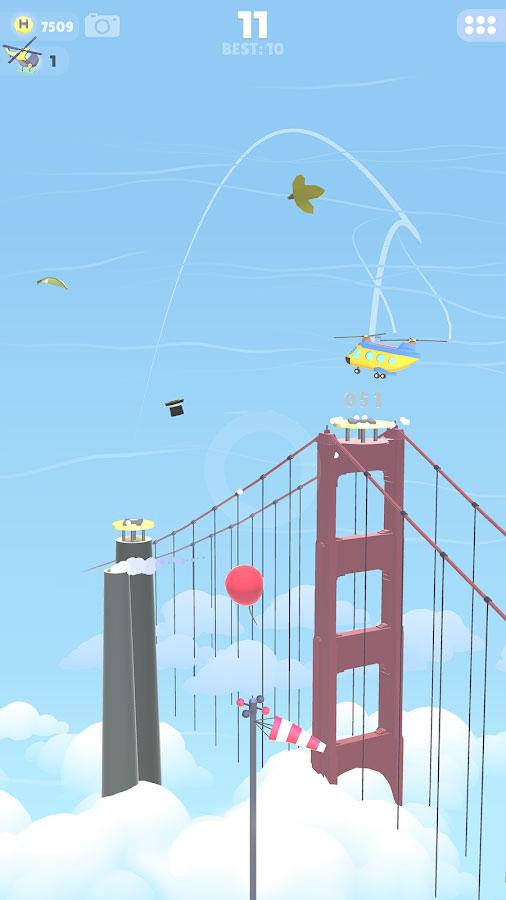 دانلود HeliHopper 1.0.8 - بازی آرکید جالب و سرگرم کننده اندروید + مود