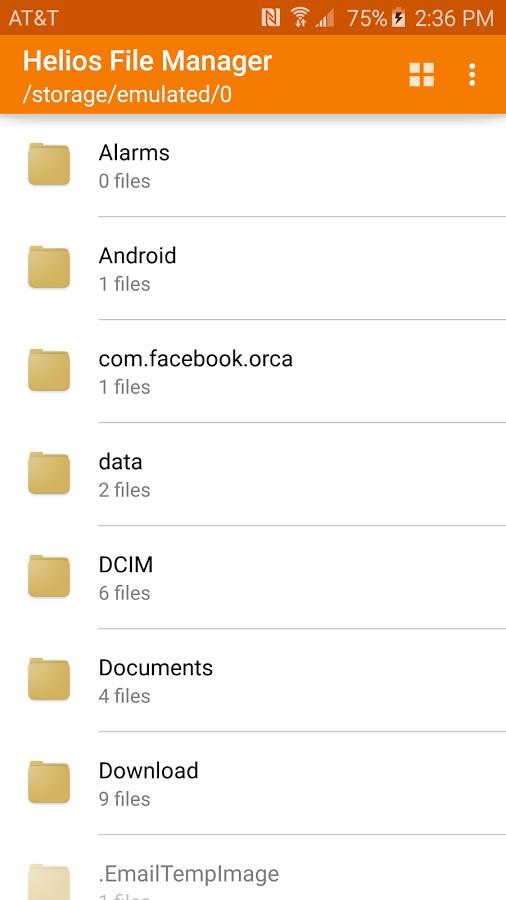 دانلود Helios File Manager Full 2.1.2 - فایل منیجر پرامکانات و عالی اندروید