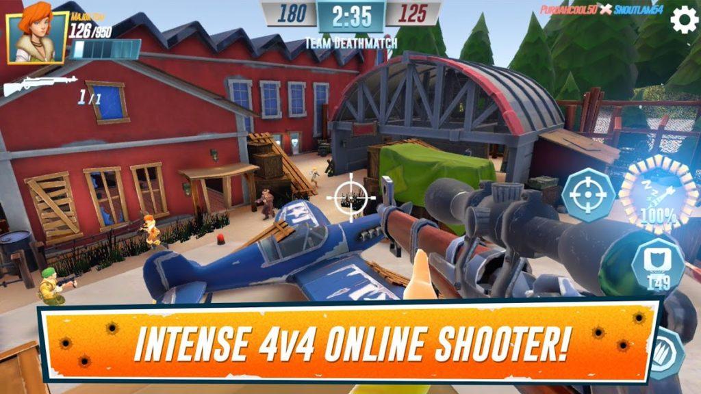 دانلود Heroes of Warland - PvP Shooter Arena 1.2.0 - بازی اکشن فوق العاده