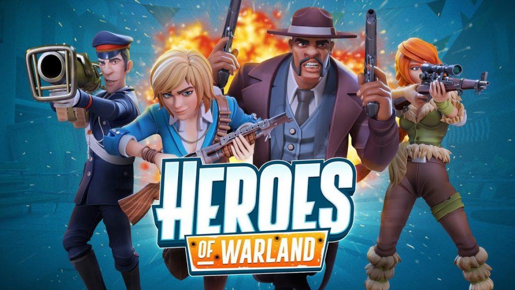 """دانلود Heroes of Warland - PvP Shooter Arena 1.0.2 - بازی اکشن فوق العاده """"قهرمانان سرزمین جنگ"""" اندروید + مود + دیتا"""