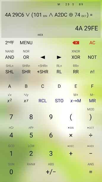 دانلود HiPER Calc Pro 7.0.3 - ماشین حساب پیشرفته و پر امکانات اندروید