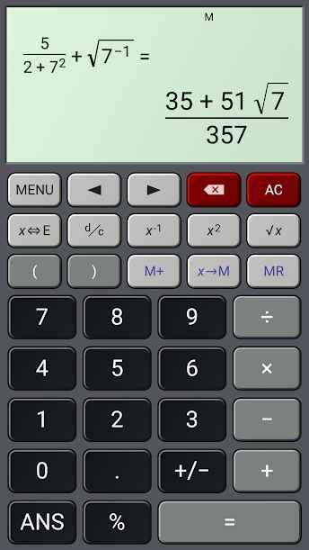دانلود HiPER Calc Pro 5.2.4 - ماشین حساب پیشرفته و پر امکانات اندروید
