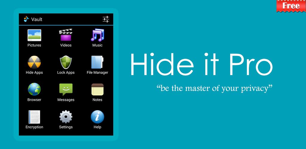Hide Pictures - Hide It Pro