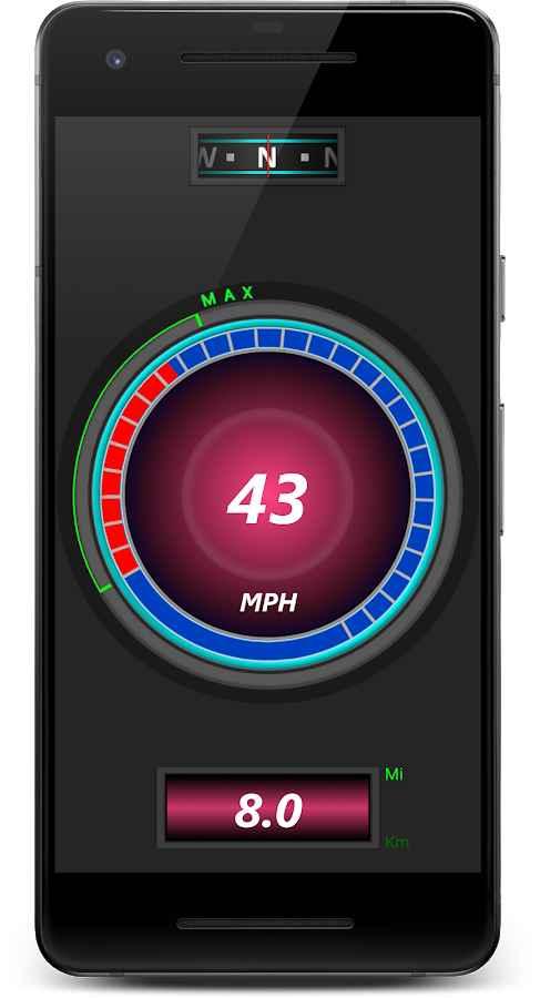 دانلود High Precision Speedometer PRO 2.14 - کیلومتر شمار عالی اندروید !