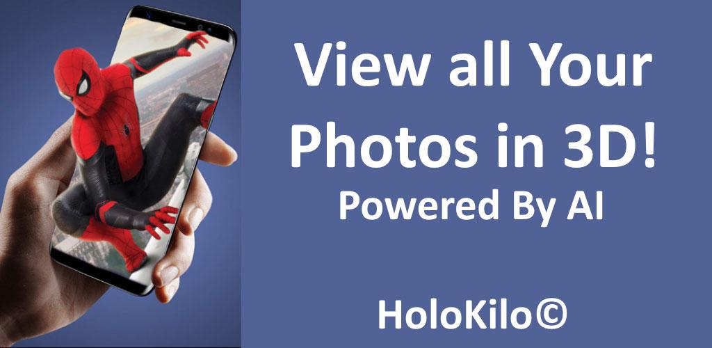 HoloKilo 3D Photo Gallery