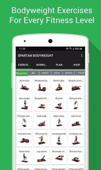 دانلود Home Workout MMA Spartan Pro 4.1.4 - برنامه تناسب اندام در خانه اندروید !
