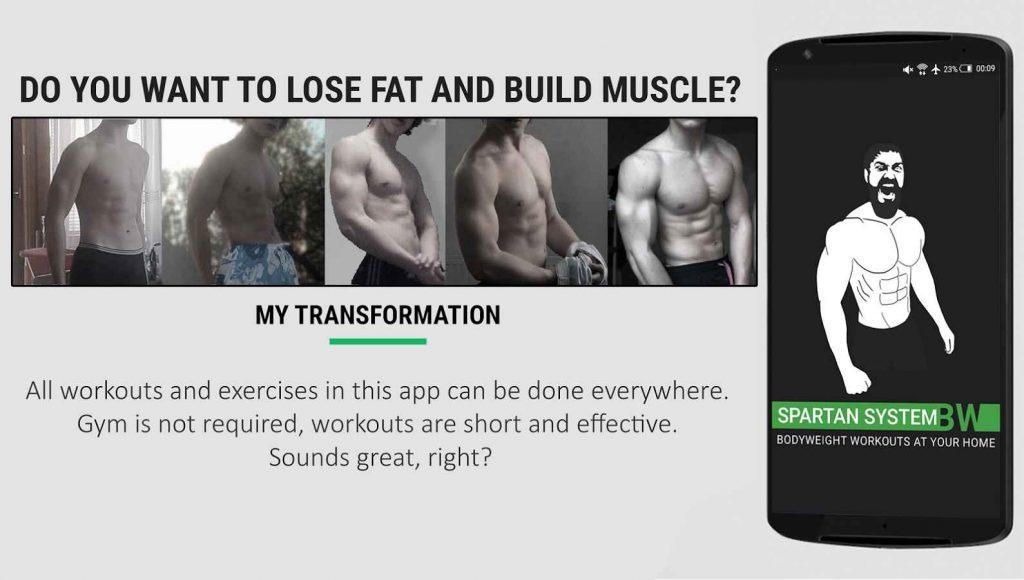 دانلود Home Workout MMA Spartan Pro 3.0.8 - برنامه تناسب اندام در خانه اندروید !