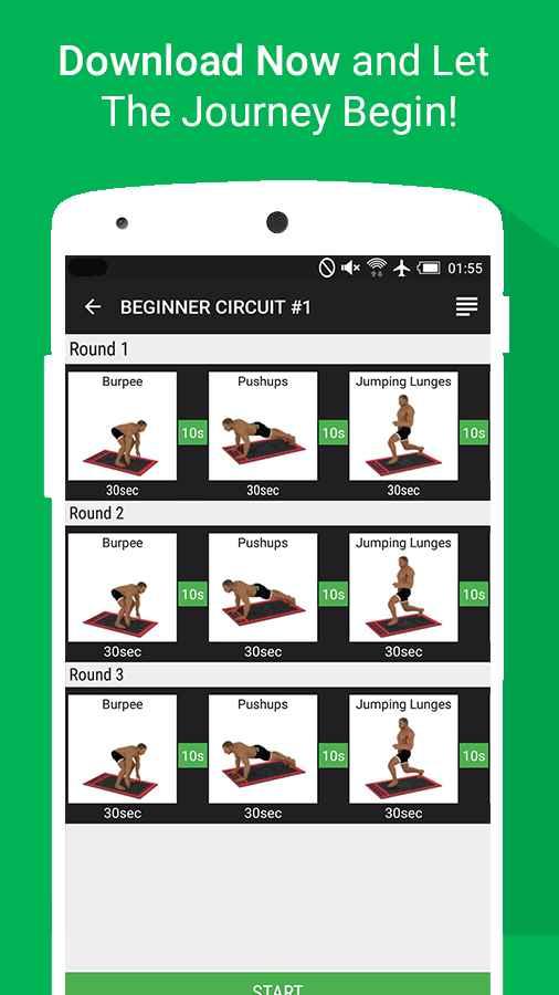 دانلود Home Workout MMA Spartan Pro 3.0.3 - برنامه تناسب اندام در خانه اندروید !